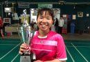 นิสิตกายภาพบำบัด ม.บูรพาได้รับรางวัลรองชนะเลิศอันดับที่ 1 แบดมินตันประเภทหญิงเดี่ยวในกีฬาเทา-ทองเกมส์
