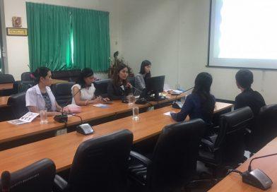 คณะสหเวชศาสตร์ มหาวิทยาลัยบูรพา ได้ให้การต้อนรับผู้เยี่ยมชมการเรียนการสอนและคลินิคกายภาพบำบัดจาก Wenzhou Medical University